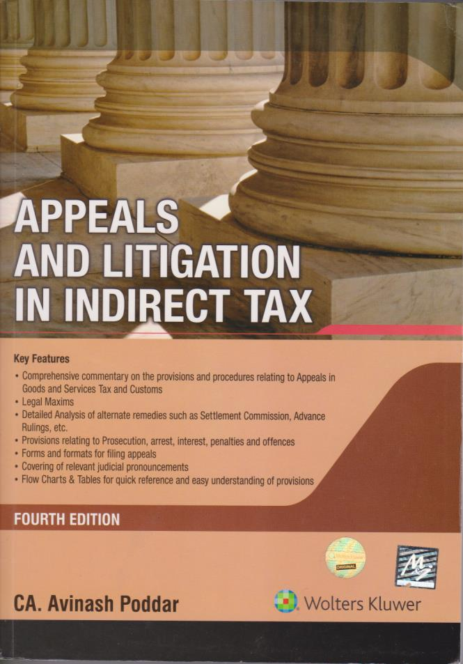 Appeals and Litigation in Indirect Tax - Fourth Edition