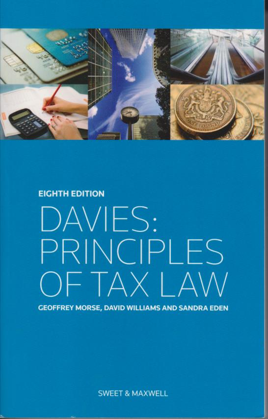 Davies: Principles of Tax Law 8th ed