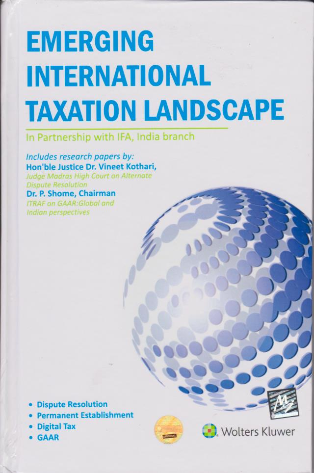 Emerging International Taxation Landscape