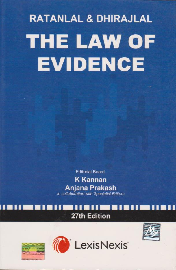 The Law of Evidence - 27th Edition