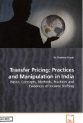 Transfer Pricing: Practices and Manipulation in India
