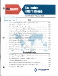 Tax Notes International: Volume 48, Number 12, December 17, 2007