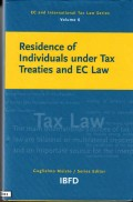 Residence of Individuals Under Tax Treaties and EC Law