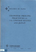 Transfer pricing practices in the united states and japan