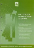 Bulletin for International Taxation Vol. 70 No. 10 - 2016