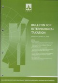 Bulletin for International Taxation Vol. 70 No. 11 - 2016