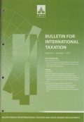 Bulletin for International Taxation Vol. 71 No. 1 - 2017
