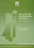 Bulletin for International Taxation Vol. 70 No. 12 - 2016
