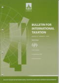 Bulletin for International Taxation Vol. 72 No. 6 - 2018