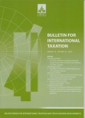 Bulletin for International Taxation Vol. 72 No. 8 - 2018