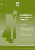 Bulletin for International Taxation Vol. 72 No. 9 - 2018