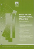 Bulletin for International Taxation Vol. 73 No. 2 - 2019