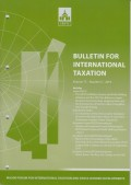 Bulletin for International Taxation Vol. 73 No. 5 - 2019