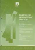Bulletin for International Taxation Vol. 69 No. 3 - 2015