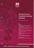 International Transfer Pricing Journal Vol. 24 No. 5 - 2017