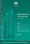 International VAT Monitor Vol. 25 No. 2 - 2014