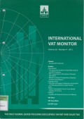 International VAT Monitor Vol. 26 No. 5 - 2015