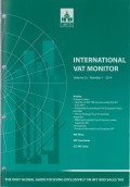 International VAT Monitor Vol. 25 No. 1 - 2014