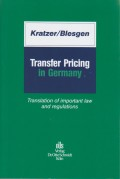Transfer Pricing in Germany: Translation of Important Law and Regulations