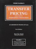 Transfer Pricing in Relation to International Transactions: As Amended by Finance Act 2015