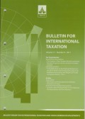 Bulletin for International Taxation Vol. 71 No. 9 - 2017