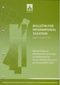 Bulletin for International Taxation Vol. 71 No. 10 - 2017