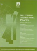 Bulletin for International Taxation Vol. 71 No. 11 - 2017