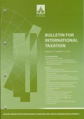 Bulletin for International Taxation Vol. 71 No. 12 - 2017