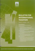 Bulletin for International Taxation Vol. 72 No. 1 - 2018