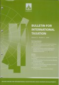Bulletin for International Taxation Vol. 72 No. 2 - 2018