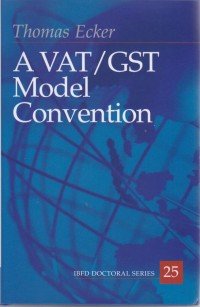 Image of A VAT/GST Model Convention