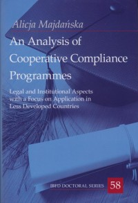Image of An Analysis of Cooperative Compliance Programmes
