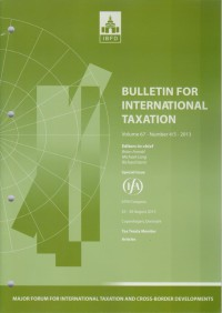 Image of Bulletin for International Taxation Vol. 67 No. 4/5 - 2013
