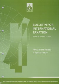 Image of Bulletin for International Taxation Vol. 70 No. 12 - 2016