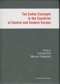 Image of Tax Codes Concepts in the Countries of Central and Eastern Europe
