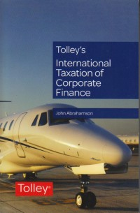 Image of Tolley's International Taxation of Corporate Finance